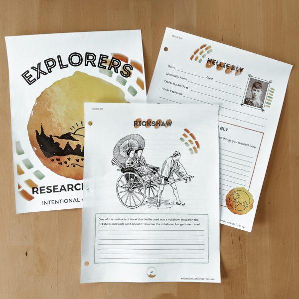 Explorers Research Unit - Learn about Ten Famous Explorers