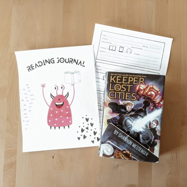 Kids Printable Reading Journal - the perfect way to keep a record of all the books they read!