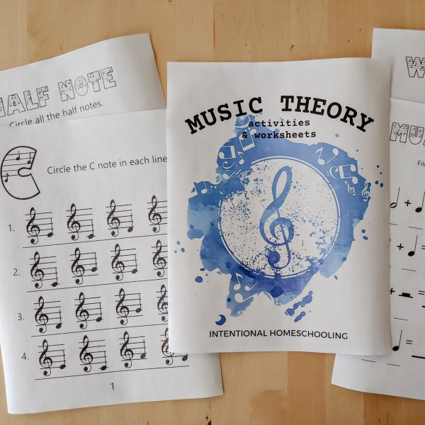 Music Theory Activities and Worksheets - tons of music theory worksheets, games and activities for beginners