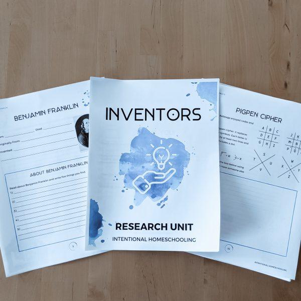 Inventors Research Unit - Learn about Ten Famous Inventors