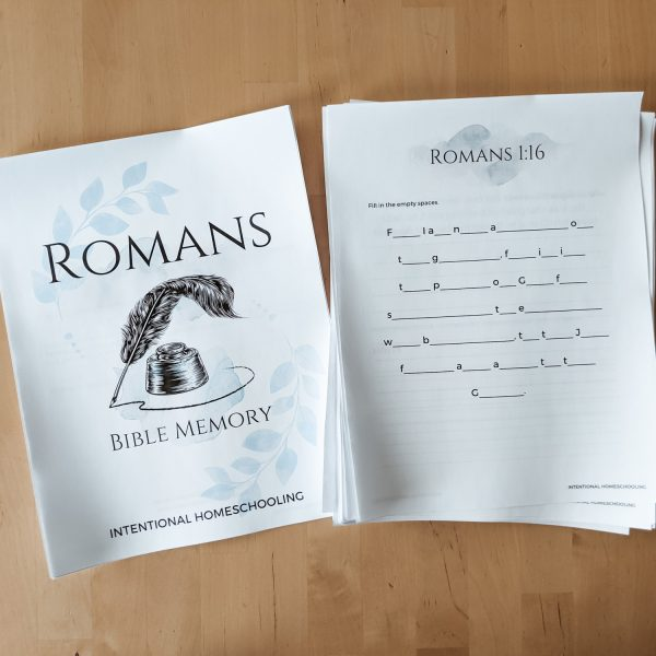 Romans Bible Memory Workbook