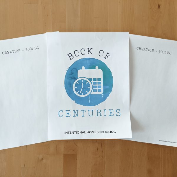 Book of Centuries - free download and printable